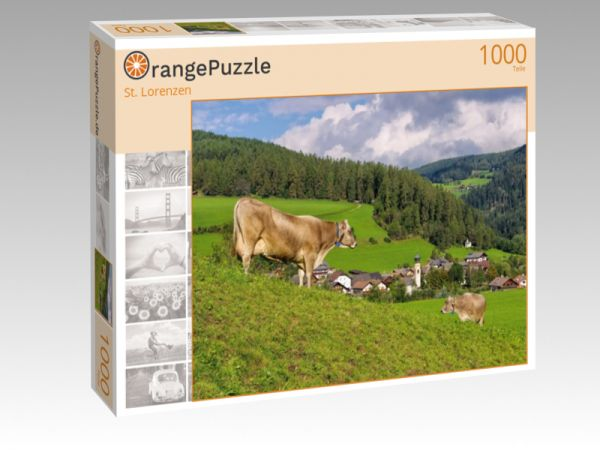 "Puzzle Motiv ""St. Lorenzen"" - Puzzle-Schachtel zu 1000 Teile Puzzle"