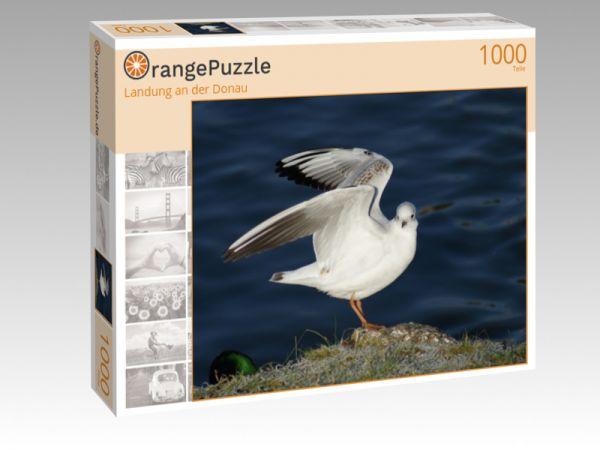 "Puzzle Motiv ""Landung an der Donau"" - Puzzle-Schachtel zu 1000 Teile Puzzle"