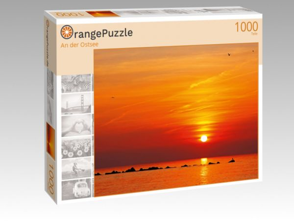 """Puzzle Motiv """"An der Ostsee"""" - Puzzle-Schachtel zu 1000 Teile Puzzle"""