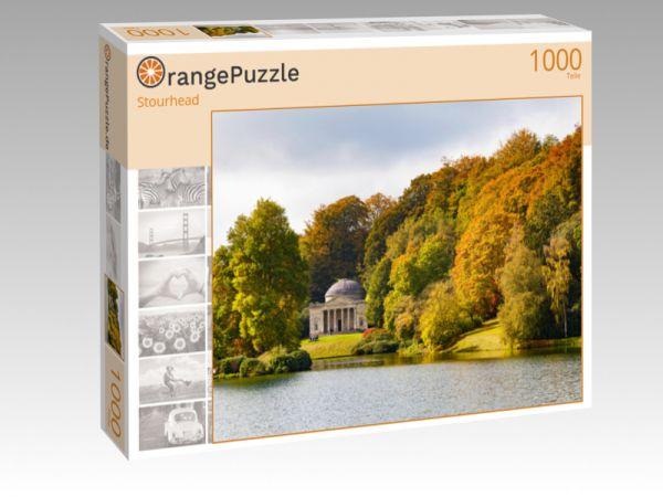 """Puzzle Motiv """"Stourhead"""" - Puzzle-Schachtel zu 1000 Teile Puzzle"""