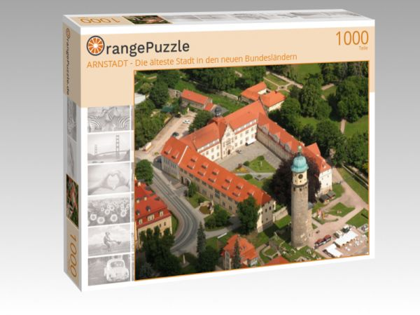"""Puzzle Motiv """"ARNSTADT - Die älteste Stadt in den neuen Bundesländern"""" - Puzzle-Schachtel zu 1000 Teile Puzzle"""
