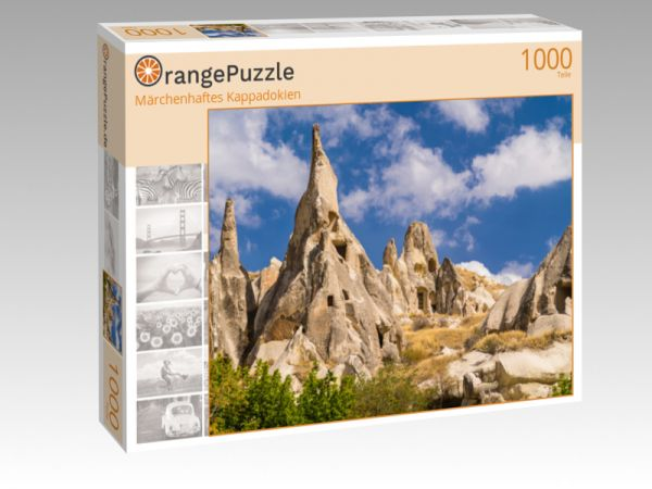 "Puzzle Motiv ""Märchenhaftes Kappadokien"" - Puzzle-Schachtel zu 1000 Teile Puzzle"