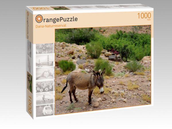 """Puzzle Motiv """"Dana-Naturreservat"""" - Puzzle-Schachtel zu 1000 Teile Puzzle"""