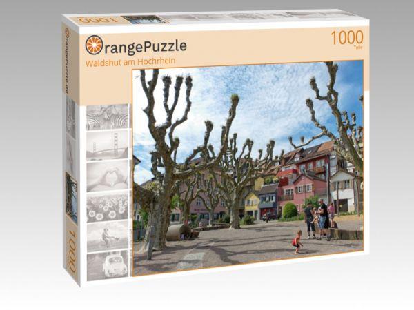 """Puzzle Motiv """"Waldshut am Hochrhein"""" - Puzzle-Schachtel zu 1000 Teile Puzzle"""