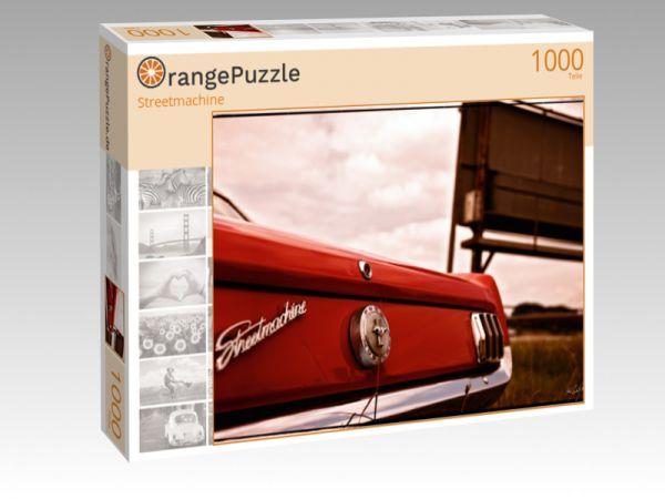 """Puzzle Motiv """"Streetmachine"""" - Puzzle-Schachtel zu 1000 Teile Puzzle"""