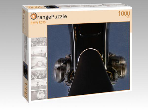 """Puzzle Motiv """"BMW R69S"""" - Puzzle-Schachtel zu 1000 Teile Puzzle"""