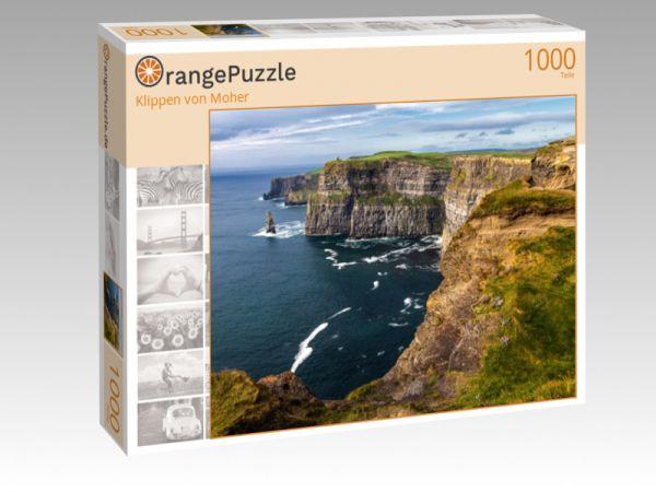 "Puzzle Motiv ""Klippen von Moher"" - Puzzle-Schachtel zu 1000 Teile Puzzle"