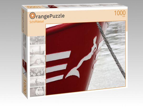 "Puzzle Motiv ""Schiffdetail"" - Puzzle-Schachtel zu 1000 Teile Puzzle"