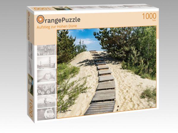 """Puzzle Motiv """"Aufstieg zur Hohen Düne"""" - Puzzle-Schachtel zu 1000 Teile Puzzle"""