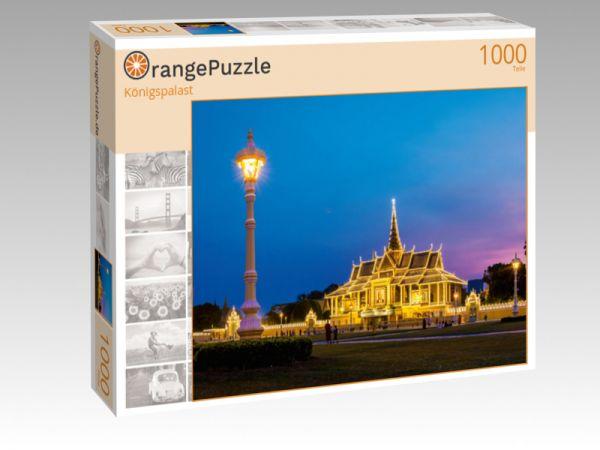 """Puzzle Motiv """"Königspalast"""" - Puzzle-Schachtel zu 1000 Teile Puzzle"""