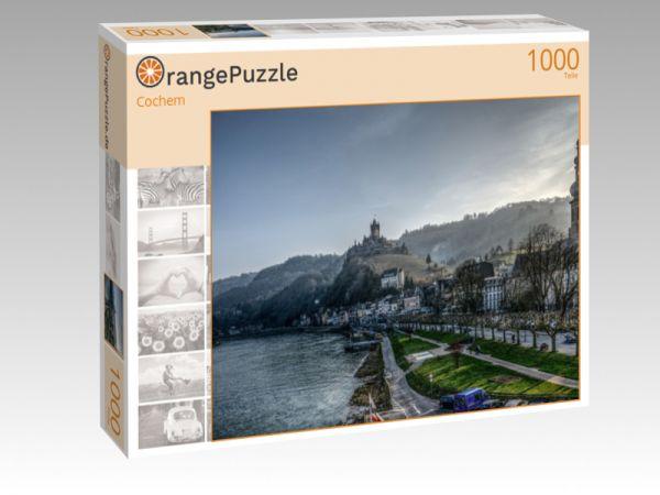 """Puzzle Motiv """"Cochem"""" - Puzzle-Schachtel zu 1000 Teile Puzzle"""