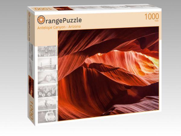 "Puzzle Motiv ""Antelope Canyon - Arizona"" - Puzzle-Schachtel zu 1000 Teile Puzzle"