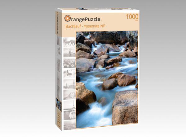 """Puzzle Motiv """"Bachlauf - Yosemite NP"""" - Puzzle-Schachtel zu 1000 Teile Puzzle"""