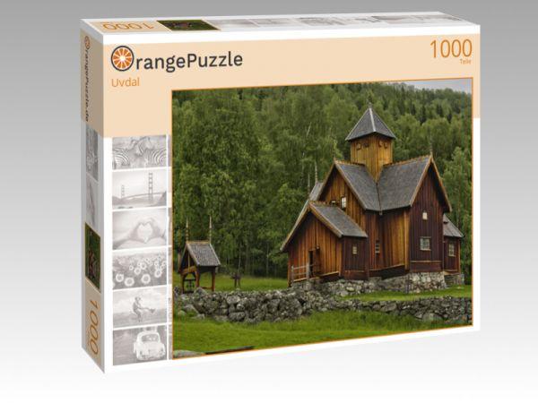 """Puzzle Motiv """"Uvdal"""" - Puzzle-Schachtel zu 1000 Teile Puzzle"""