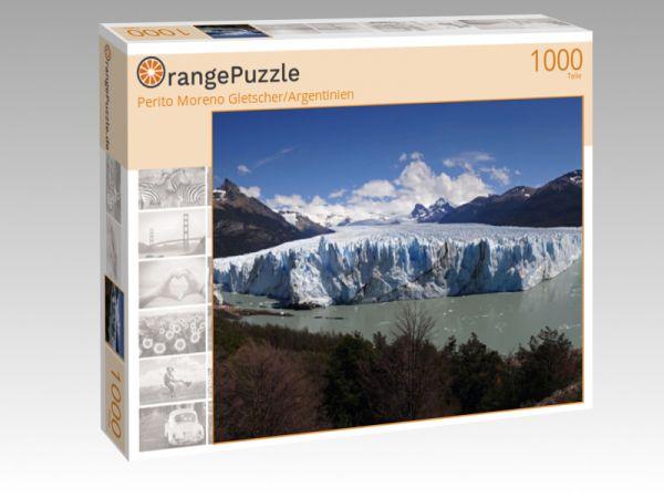 """Puzzle Motiv """"Perito Moreno Gletscher/Argentinien"""" - Puzzle-Schachtel zu 1000 Teile Puzzle"""