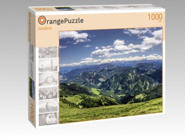 """Puzzle Motiv """"Goldeck"""" - Puzzle-Schachtel zu 1000 Teile Puzzle"""