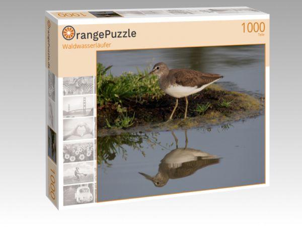 """Puzzle Motiv """"Waldwasserläufer"""" - Puzzle-Schachtel zu 1000 Teile Puzzle"""