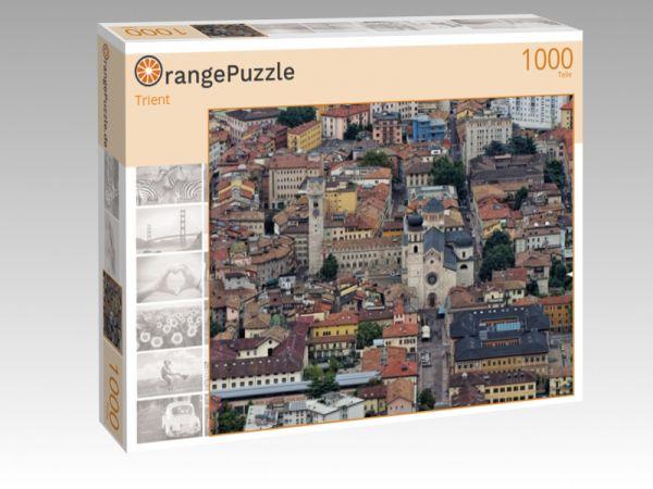 """Puzzle Motiv """"Trient"""" - Puzzle-Schachtel zu 1000 Teile Puzzle"""