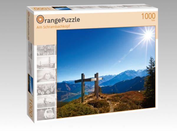 """Puzzle Motiv """"Am Schrambachkopf"""" - Puzzle-Schachtel zu 1000 Teile Puzzle"""