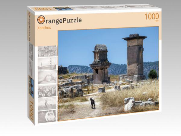 """Puzzle Motiv """"Xanthos"""" - Puzzle-Schachtel zu 1000 Teile Puzzle"""