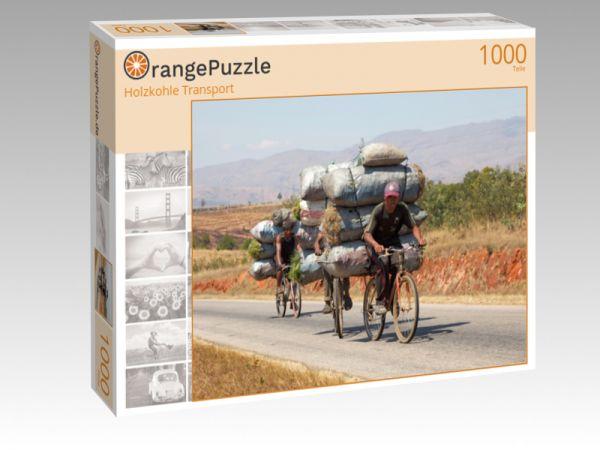 """Puzzle Motiv """"Holzkohle Transport"""" - Puzzle-Schachtel zu 1000 Teile Puzzle"""