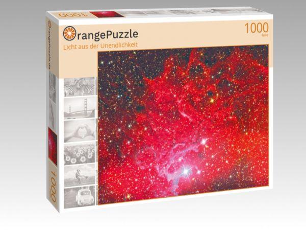 """Puzzle Motiv """"Licht aus der Unendlichkeit"""" - Puzzle-Schachtel zu 1000 Teile Puzzle"""