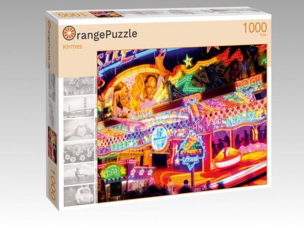 """Puzzle Motiv """"Kirmes"""" - Puzzle-Schachtel zu 1000 Teile Puzzle"""