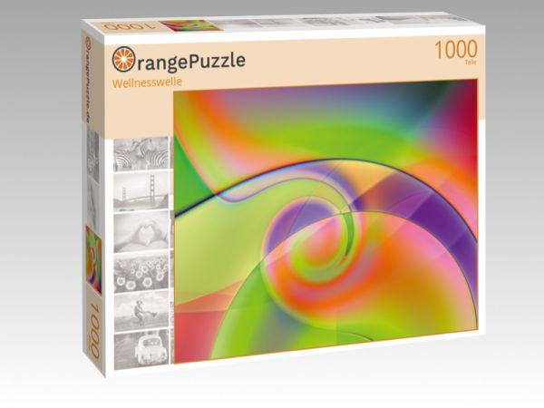 "Puzzle Motiv ""Wellnesswelle"" - Puzzle-Schachtel zu 1000 Teile Puzzle"