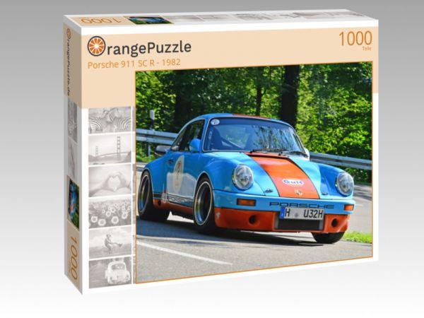 """Puzzle Motiv """"Porsche 911 SC R - 1982"""" - Puzzle-Schachtel zu 1000 Teile Puzzle"""