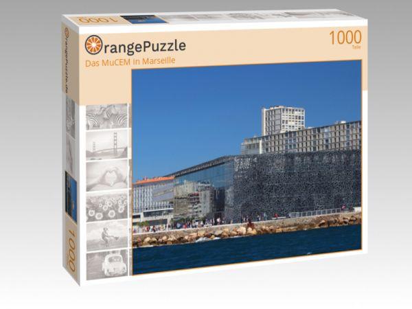 """Puzzle Motiv """"Das MuCEM in Marseille"""" - Puzzle-Schachtel zu 1000 Teile Puzzle"""