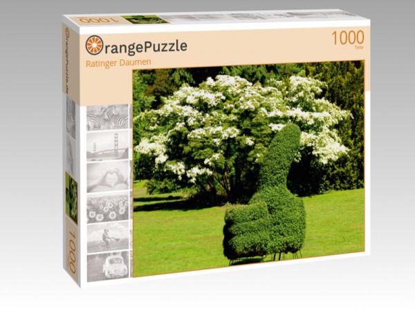 """Puzzle Motiv """"Ratinger Daumen"""" - Puzzle-Schachtel zu 1000 Teile Puzzle"""
