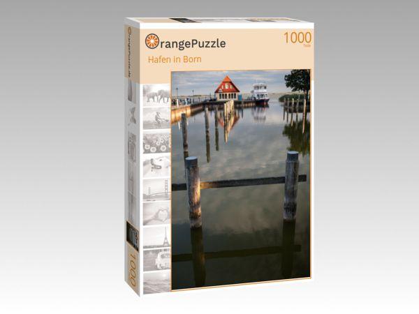 """Puzzle Motiv """"Hafen in Born"""" - Puzzle-Schachtel zu 1000 Teile Puzzle"""