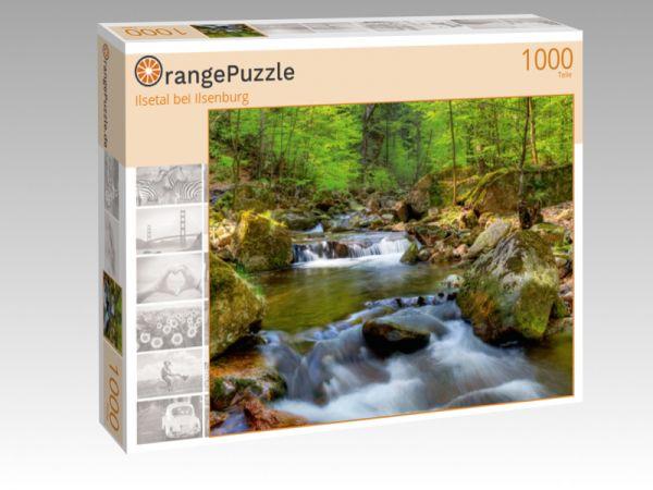 """Puzzle Motiv """"Ilsetal bei Ilsenburg"""" - Puzzle-Schachtel zu 1000 Teile Puzzle"""