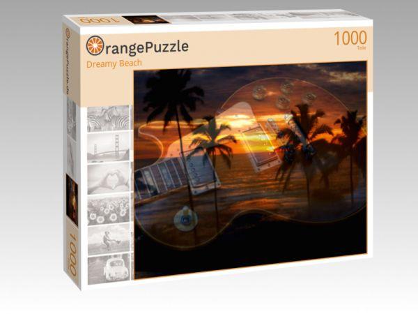 """Puzzle Motiv """"Dreamy Beach"""" - Puzzle-Schachtel zu 1000 Teile Puzzle"""