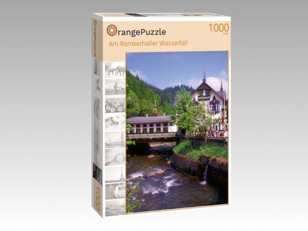 """Puzzle Motiv """"Am Romkerhaller Wasserfall"""" - Puzzle-Schachtel zu 1000 Teile Puzzle"""
