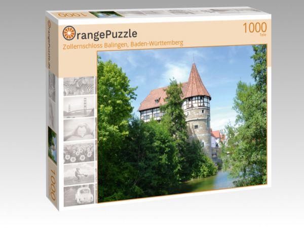 """Puzzle Motiv """"Zollernschloss Balingen, Baden-Württemberg"""" - Puzzle-Schachtel zu 1000 Teile Puzzle"""