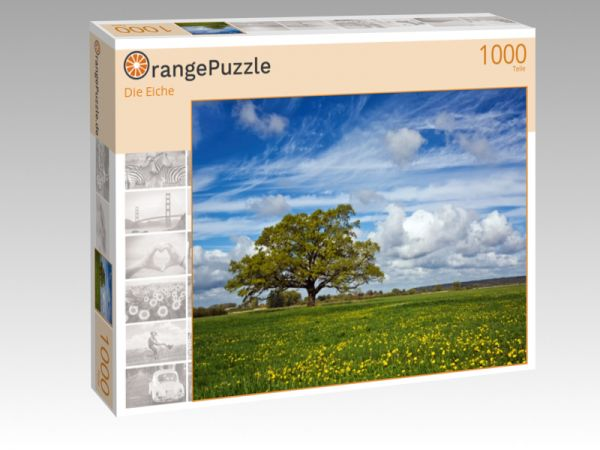 "Puzzle Motiv ""Die Eiche"" - Puzzle-Schachtel zu 1000 Teile Puzzle"