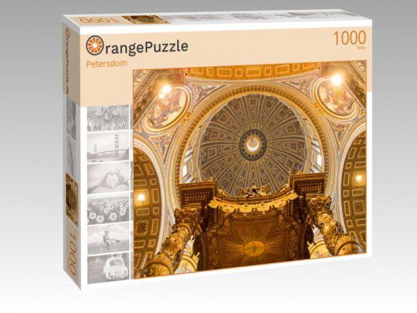"""Puzzle Motiv """"Petersdom"""" - Puzzle-Schachtel zu 1000 Teile Puzzle"""
