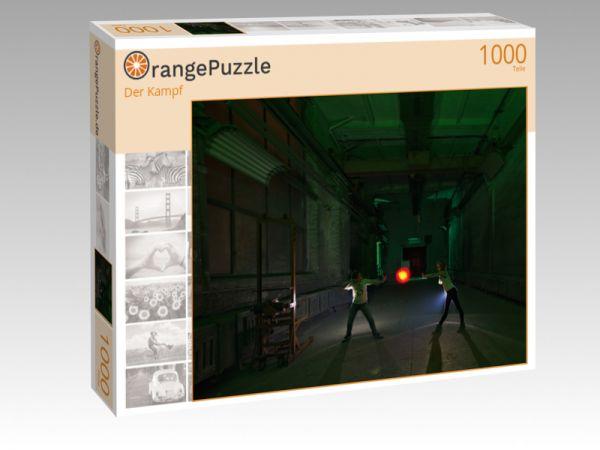 """Puzzle Motiv """"Der Kampf"""" - Puzzle-Schachtel zu 1000 Teile Puzzle"""