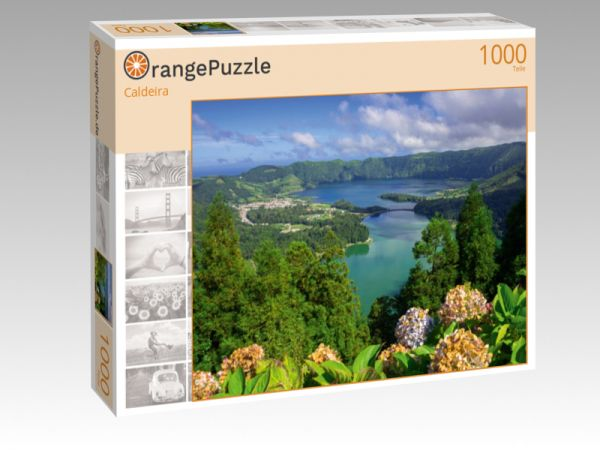"""Puzzle Motiv """"Caldeira"""" - Puzzle-Schachtel zu 1000 Teile Puzzle"""