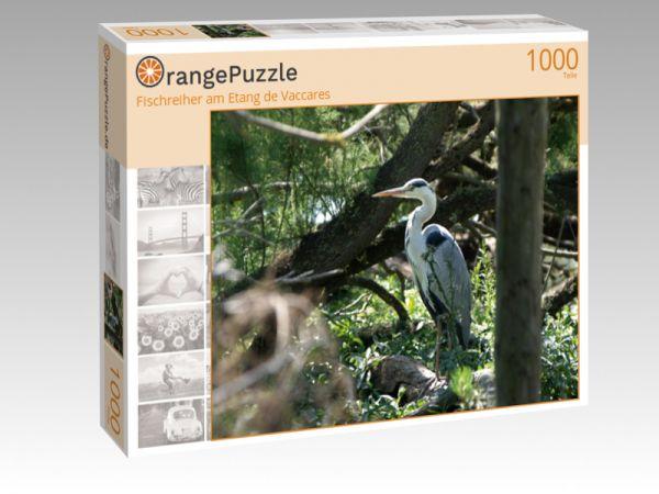 """Puzzle Motiv """"Fischreiher am Etang de Vaccares"""" - Puzzle-Schachtel zu 1000 Teile Puzzle"""
