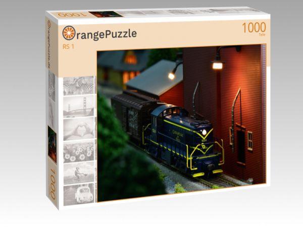 """Puzzle Motiv """"RS 1"""" - Puzzle-Schachtel zu 1000 Teile Puzzle"""