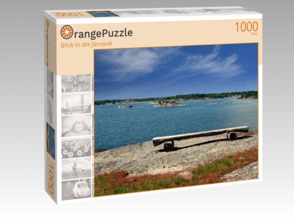 """Puzzle Motiv """"Blick in die Järnavik"""" - Puzzle-Schachtel zu 1000 Teile Puzzle"""