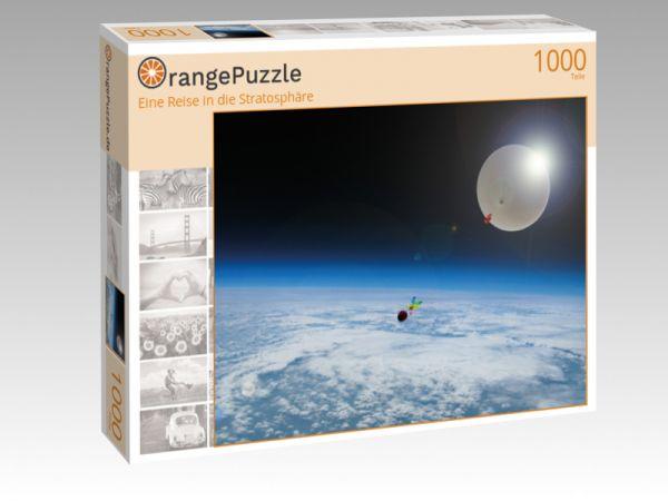 """Puzzle Motiv """"Eine Reise in die Stratosphäre"""" - Puzzle-Schachtel zu 1000 Teile Puzzle"""