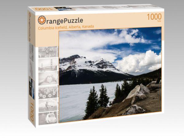 "Puzzle Motiv ""Columbia Icefield, Alberta, Kanada"" - Puzzle-Schachtel zu 1000 Teile Puzzle"