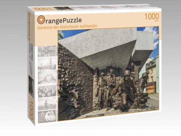 """Puzzle Motiv """"Denkmal des Warschauer Aufstandes"""" - Puzzle-Schachtel zu 1000 Teile Puzzle"""