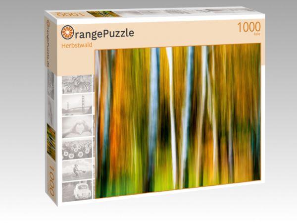 """Puzzle Motiv """"Herbstwald"""" - Puzzle-Schachtel zu 1000 Teile Puzzle"""