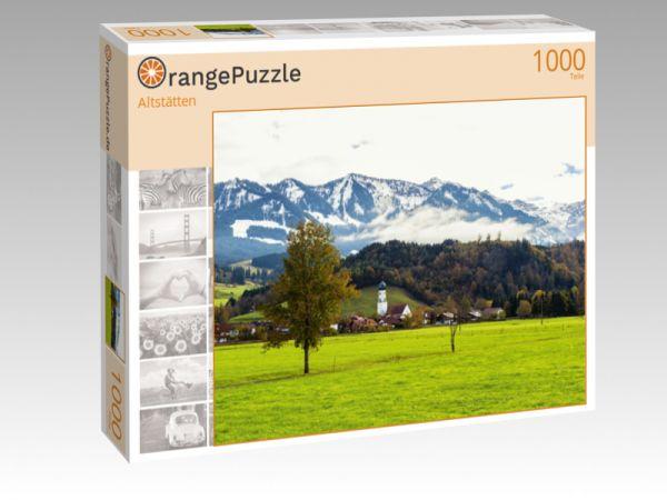 """Puzzle Motiv """"Altstätten"""" - Puzzle-Schachtel zu 1000 Teile Puzzle"""