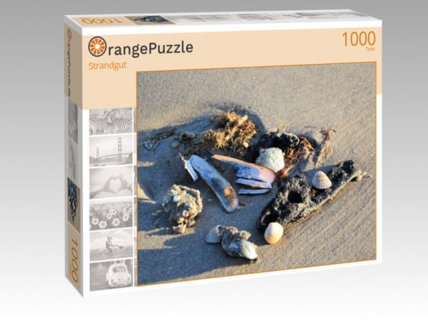 """Puzzle Motiv """"Strandgut"""" - Puzzle-Schachtel zu 1000 Teile Puzzle"""