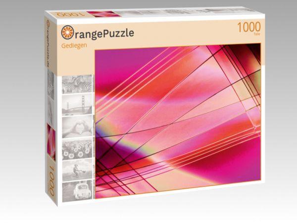 """Puzzle Motiv """"Gediegen"""" - Puzzle-Schachtel zu 1000 Teile Puzzle"""